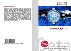 Bookcover of Abstract Syntax