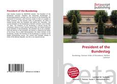 Bookcover of President of the Bundestag