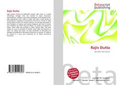 Bookcover of Rajiv Dutta