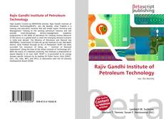 Rajiv Gandhi Institute of Petroleum Technology的封面