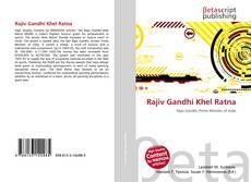 Borítókép a  Rajiv Gandhi Khel Ratna - hoz
