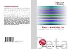 Portada del libro de Tomasz Kołodziejczak