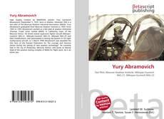 Capa do livro de Yury Abramovich