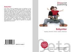 Couverture de Babysitter