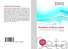 Bookcover of President of Sierra Leone