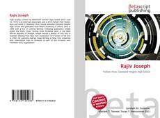 Rajiv Joseph kitap kapağı