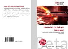 Borítókép a  Assertion Definition Language - hoz