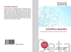 Schefflera Apioidea kitap kapağı