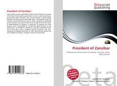 Bookcover of President of Zanzibar
