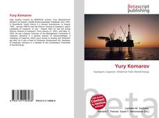 Bookcover of Yury Komarov