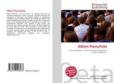 Buchcover von Albert Florschütz
