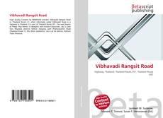 Bookcover of Vibhavadi Rangsit Road