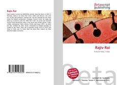 Rajiv Rai kitap kapağı