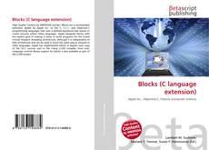 Обложка Blocks (C language extension)
