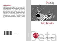 Bookcover of Rajiv Surendra