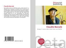 Capa do livro de Claudio Baccalà