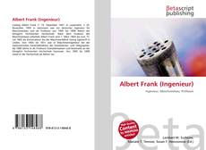 Bookcover of Albert Frank (Ingenieur)