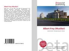 Portada del libro de Albert Frey (Musiker)