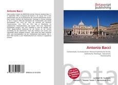 Antonio Bacci kitap kapağı