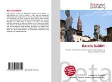 Bookcover of Baccio Baldini