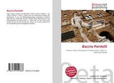 Buchcover von Baccio Pontelli