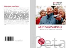 Bookcover of Albert Funk (Apotheker)