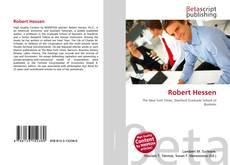 Robert Hessen的封面