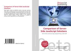 Comparison of Server-Side JavaScript Solutions kitap kapağı