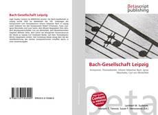 Copertina di Bach-Gesellschaft Leipzig