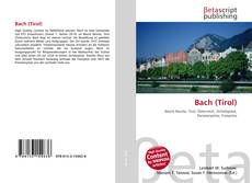 Bookcover of Bach (Tirol)