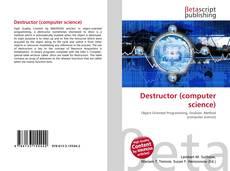 Portada del libro de Destructor (computer science)