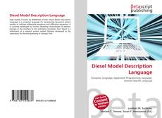Capa do livro de Diesel Model Description Language
