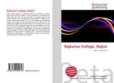 Portada del libro de Rajkumar College, Rajkot