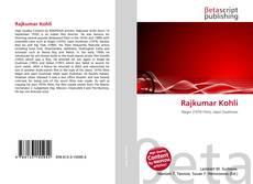 Bookcover of Rajkumar Kohli