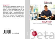 Portada del libro de Baby Halder