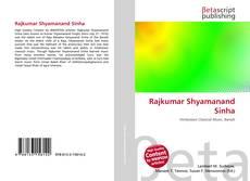 Bookcover of Rajkumar Shyamanand Sinha