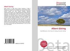 Bookcover of Albert Göring
