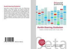 Portada del libro de Parikh-Doering Oxidation