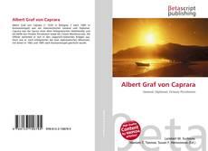 Capa do livro de Albert Graf von Caprara