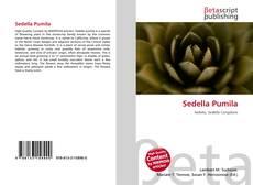 Sedella Pumila kitap kapağı