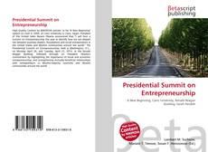 Presidential Summit on Entrepreneurship的封面