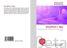 Bookcover of Woodford v. Ngo