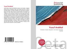 Bookcover of Yusuf Arakkal
