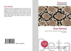 Capa do livro de Eryx (Genus)