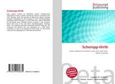 Bookcover of Schempp-Hirth