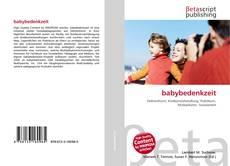 Bookcover of babybedenkzeit
