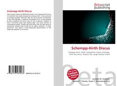 Bookcover of Schempp-Hirth Discus