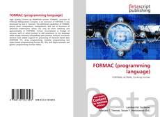 Capa do livro de FORMAC (programming language)