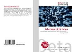 Bookcover of Schempp-Hirth Janus
