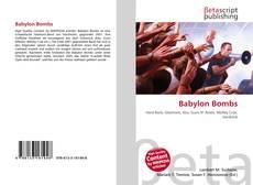 Babylon Bombs kitap kapağı